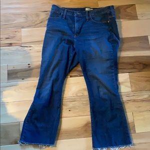 Madewell Cali Demi Boot Jean